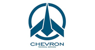 Chevron technical services and aircraft maintenance logo