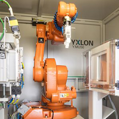 YXLON MU56 TB | Robotic System for Industrial X-ray Inspection of Turbine Blades