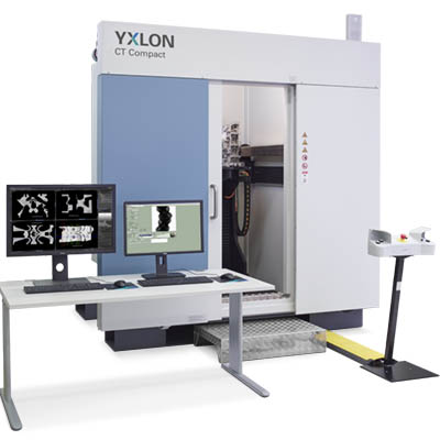 YXLON CT Compact x-ray inspection system for the aerospace industry