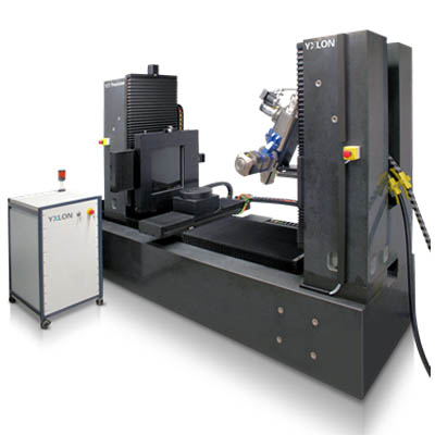 YXLON CT Precision x-ray inspection system for the aerospace industry