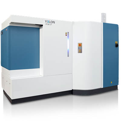 YXLON FF35 CT x-ray inspection system for the aerospace industry