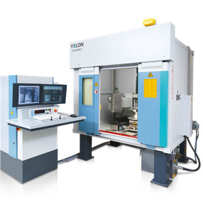 YXLON MU2000-D x-ray inspection system for the aerospace industry